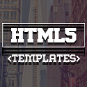 Post Thumbnail of 15 Responsive HTML5 CSS3 Website Templates