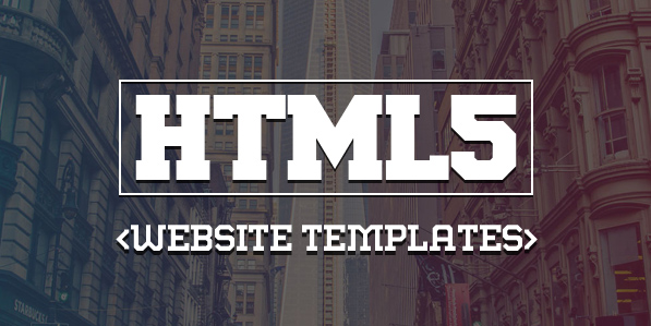 15 Responsive HTML5 CSS3 Website Templates