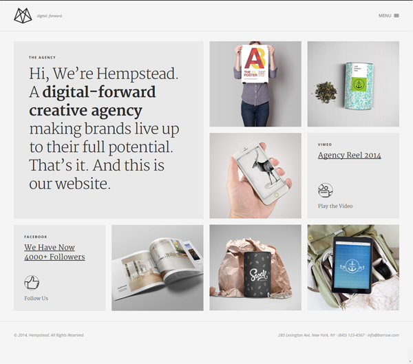 Hempstead – Responsive WordPress Portfolio Theme