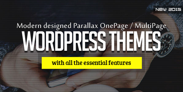 16 New Responsive HTML5 WordPress Themes
