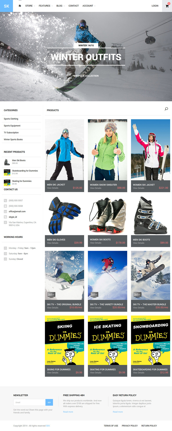 SEK - iThemes Exchange Shop WordPress Theme
