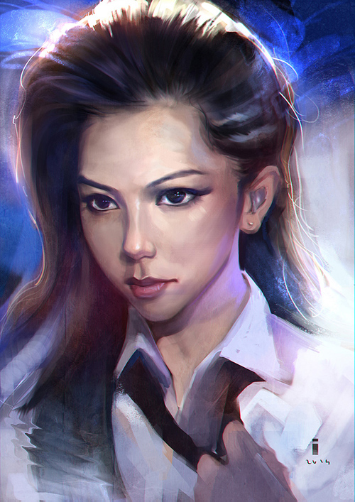 Gorgeous Ddigital Portraits by ivangod