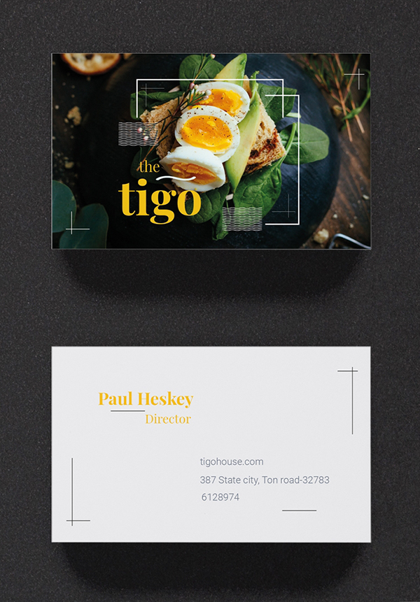 Editable Business Cards