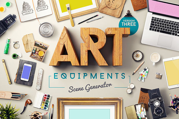 Art Equipments Scene Generator V3