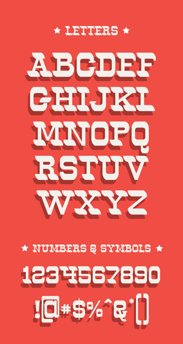 40 Free Hipster fonts - 9