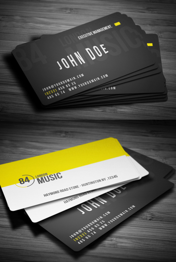28 Creative Corporate Business Cards Design