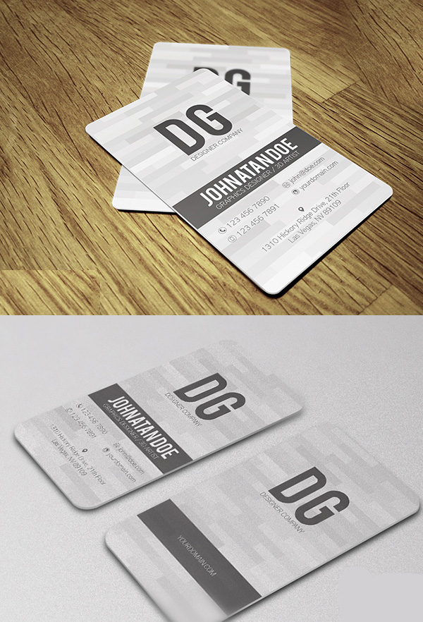 corporate business cards design