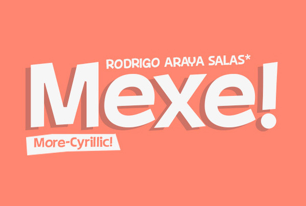Mexe Free Font