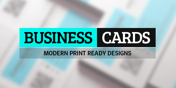 25 Modern Business Cards Design (Print Ready)