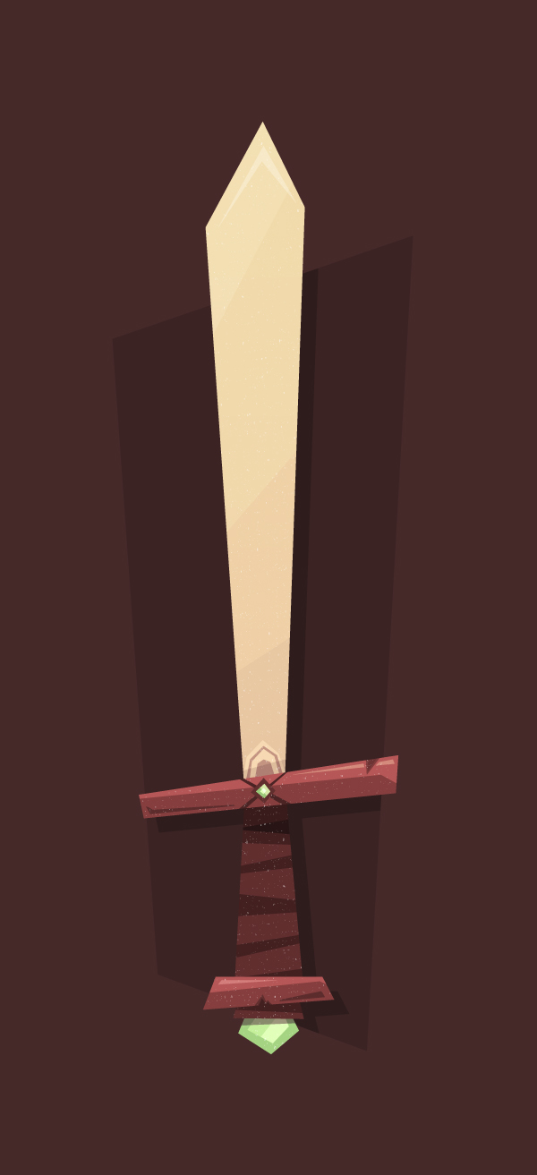 How to Create a Cartoon-Like Elemental Sword in Adobe Illustrator