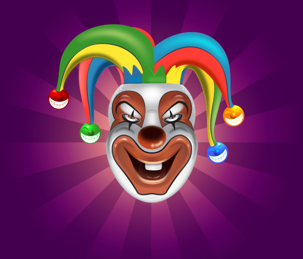 Create a Clown Face in Adobe Illustrator Tutorial