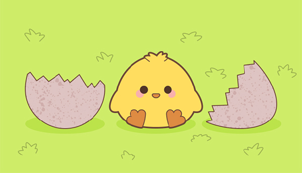 Create a Cute Spring Chick in Illustrator