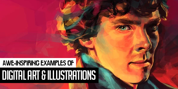 32 Awe-Inspiring Digital Art and Illustrations by Professional Designers