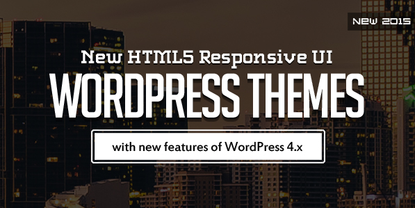 15 New HTML5 WordPress Themes with Responsive UI