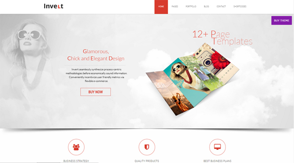How to create a parallax scrolling wordpress website for Free html5 parallax scrolling template