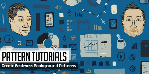 Background Pattern Design Tutorials & Free Patterns