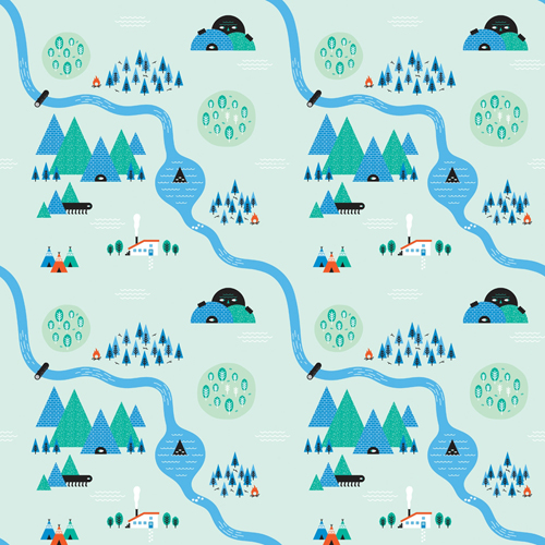 Create Quirky Repeating Patterns in Adobe Illustrator Tutorial