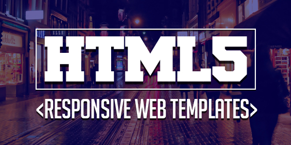 17 New Responsive HTML5 Web Templates