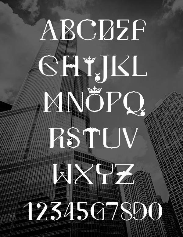 Valencia Font Letters