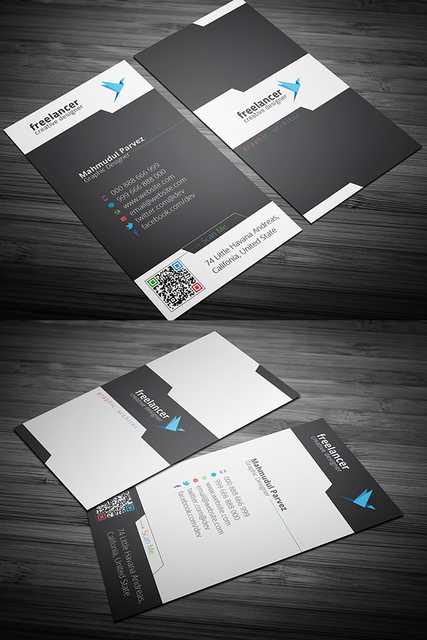 Business cards psd templates design graphic design junction corporate creative business card reheart Image collections