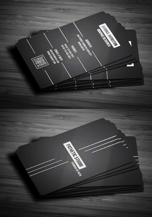 Business cards psd templates design graphic design junction creative business card wajeb Image collections