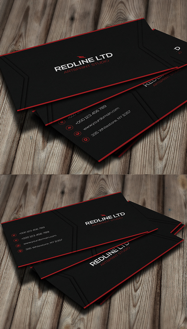 RedLine Corporate Business Card