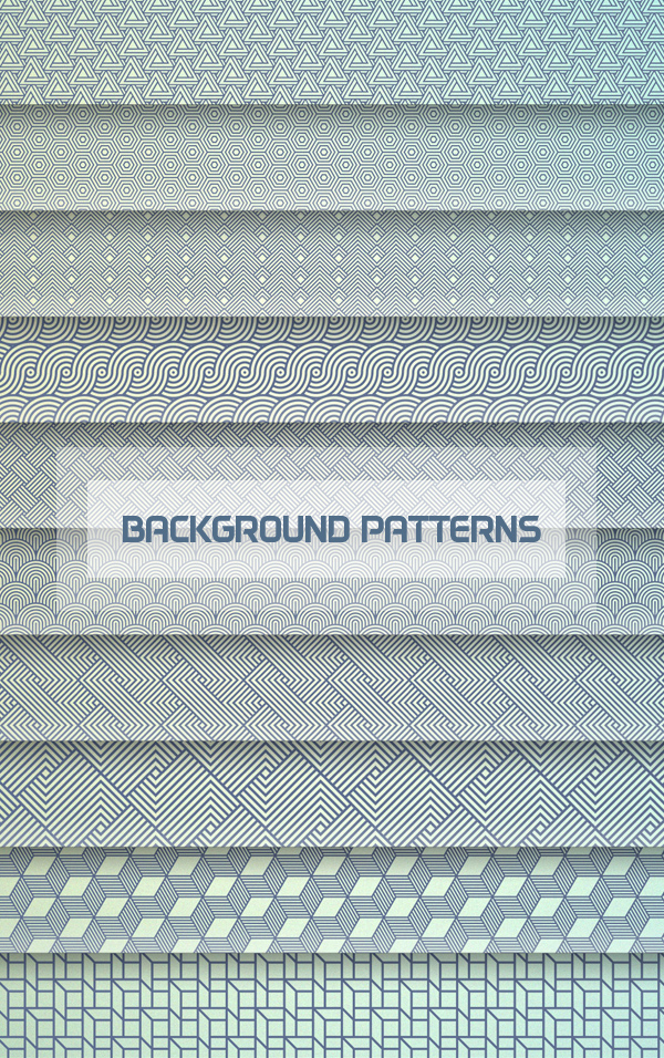 Free Set of Background Patterns