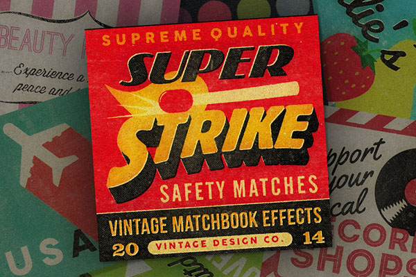 Super Strike – Matchbook Effects