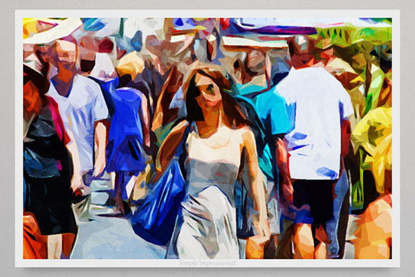 Simple Impressionist is a Photoshop action