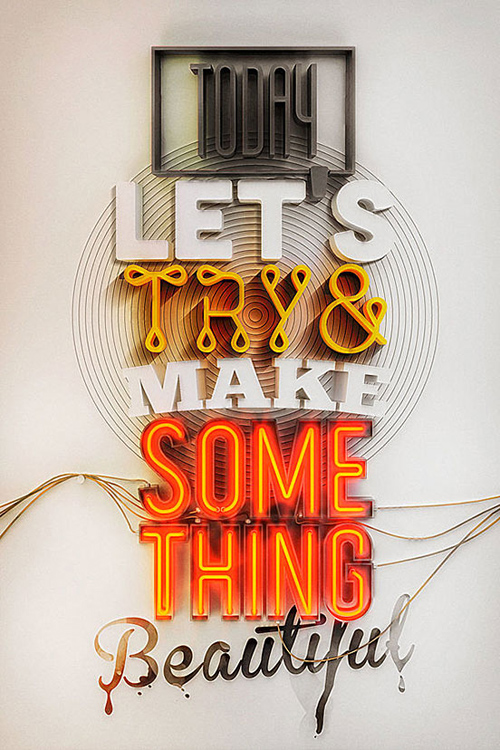 Typography Posters: 30 Motivational and Inspiring Quotes - 18