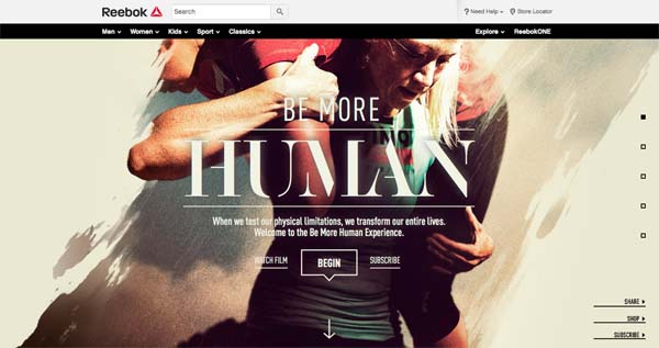 Inspiring Examples of HTML5 Websites Design - 1