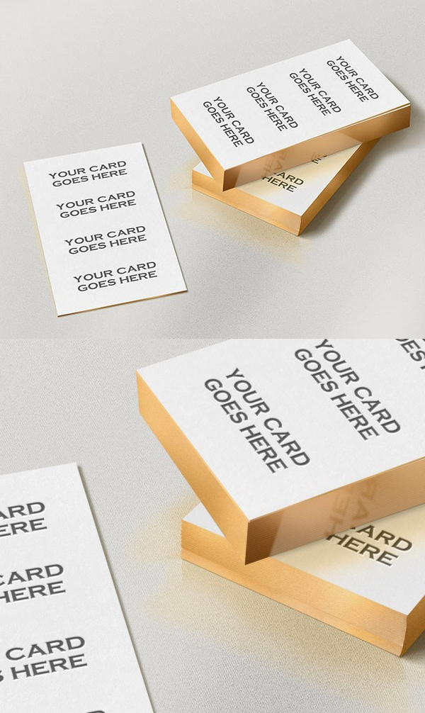 26 new photoshop free psd files for designers freebies graphic free gold edge letterpress business card mockup reheart Gallery