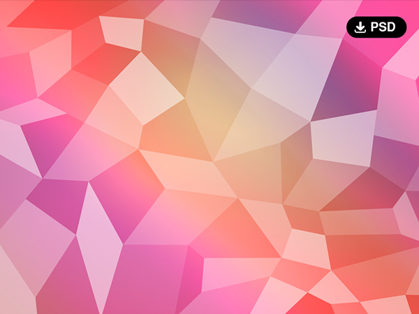 Free PSD Polygon Backgrounds Abstract Art