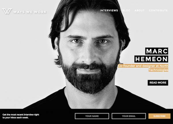 Fresh Examples of Responsive Websites Design - 12