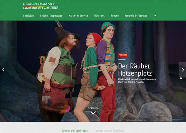 Inspiring Examples of HTML5 Websites Design - 21