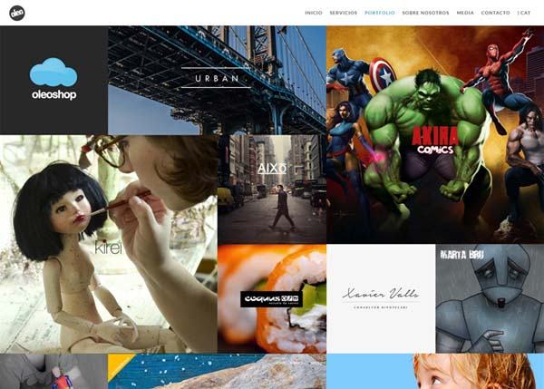 Inspiring Examples of HTML5 Websites Design - 22