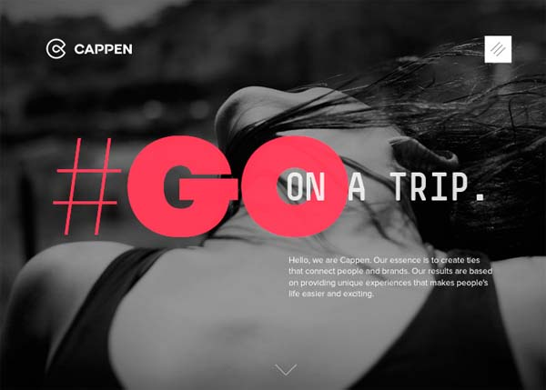 Inspiring Examples of HTML5 Websites Design - 23