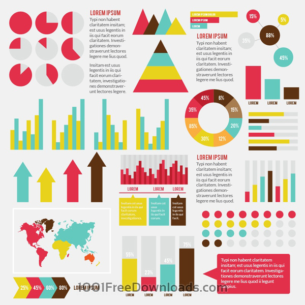 Free Download Vector Infographic Elements