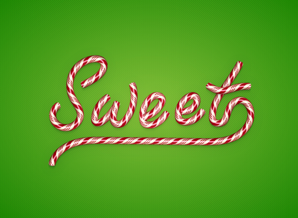 Create a Candy Text Effect in Illustrator