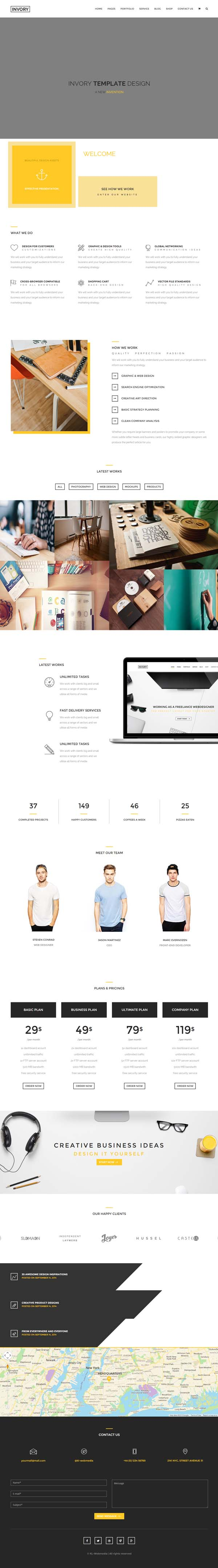 Invory - Multi-Purpose HTML5 Template