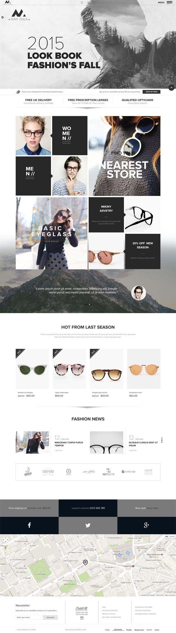 Mandala : Responsive Ecommerce WordPress Theme