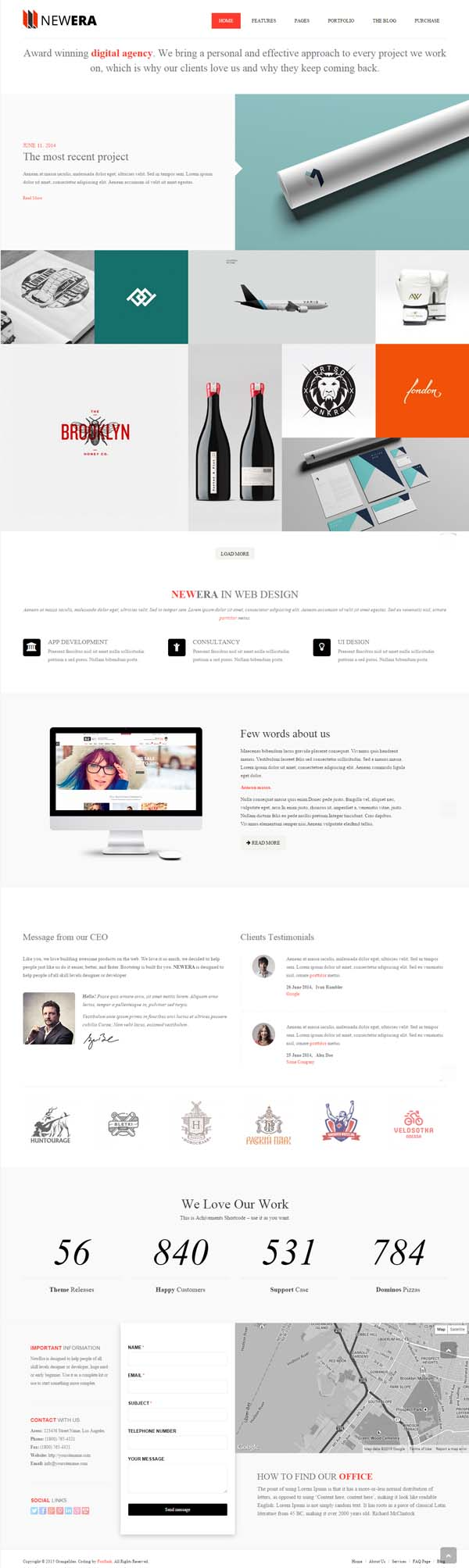 NEWERA - Smart Portfolio and Business Template
