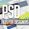 Post Thumbnail of 26 New Photoshop Free PSD Files for Designers