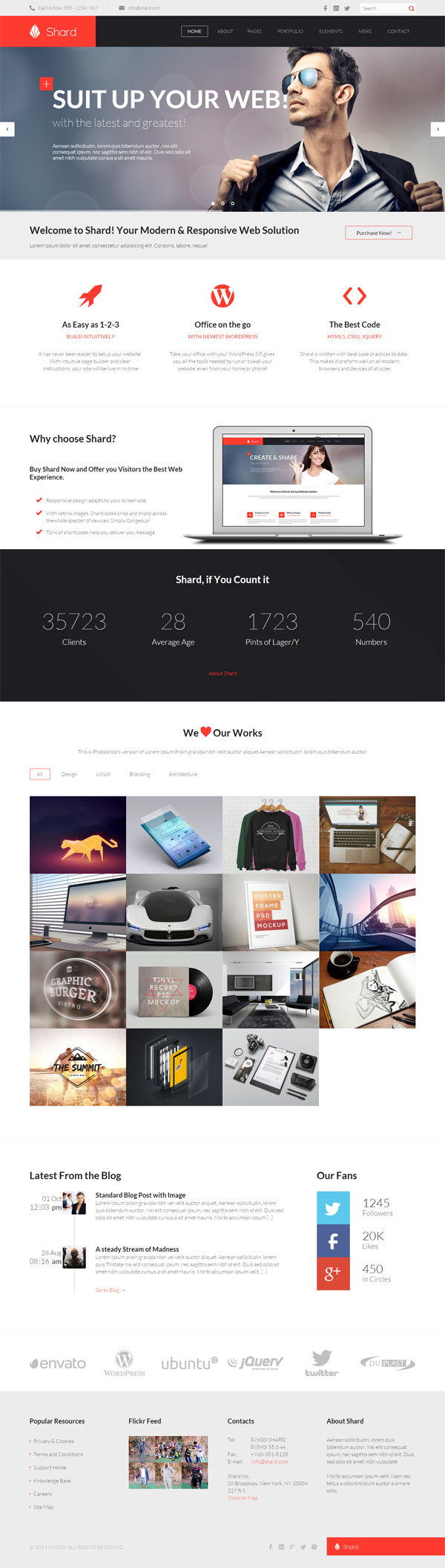 Shard - Multipurpose Business HTML5 Template