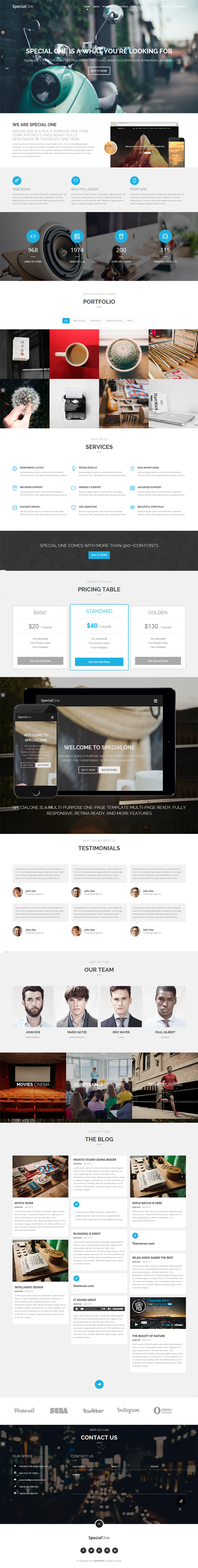 Fresh Responsive HTML5 Web Templates | Design | Graphic Design Junction