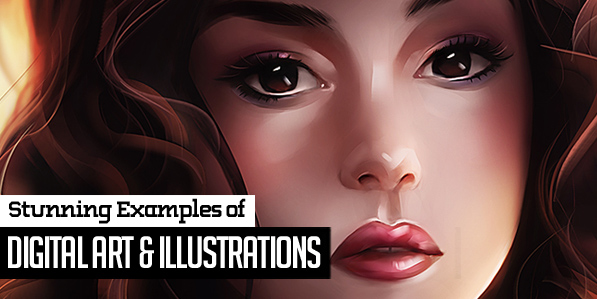 34 Stunning Digital Art and Illustrations by Creative Designers