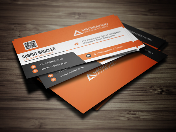 Creative business cards design print ready design graphic creative business card template wajeb