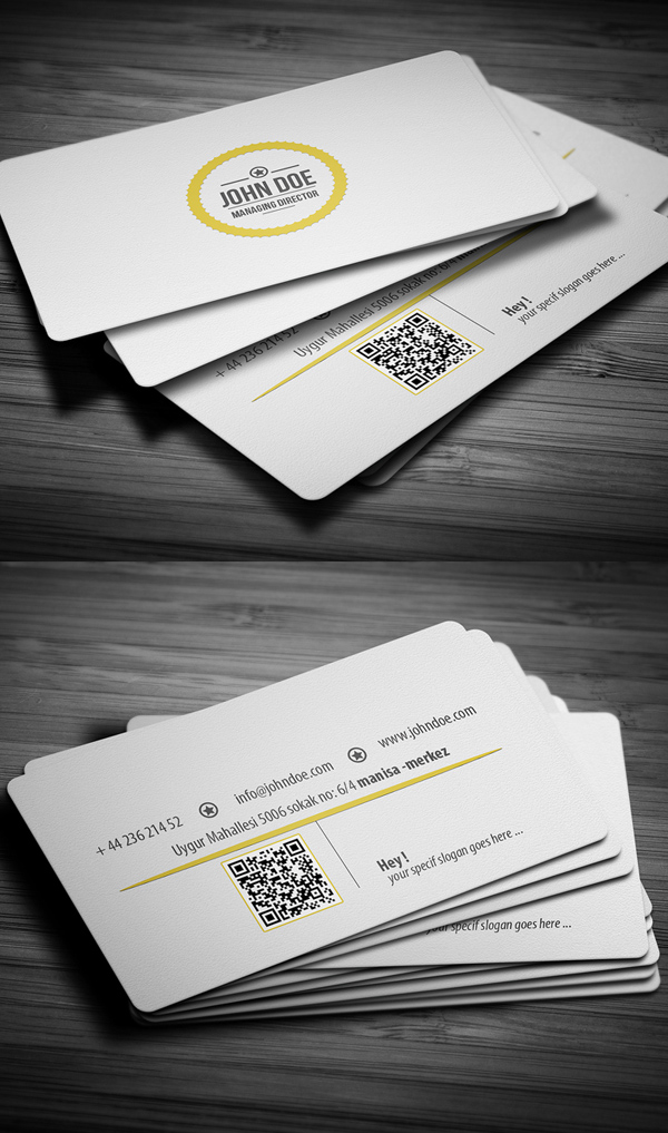 Business Cards Design: 50+ Amazing Examples to Inspire You - 30