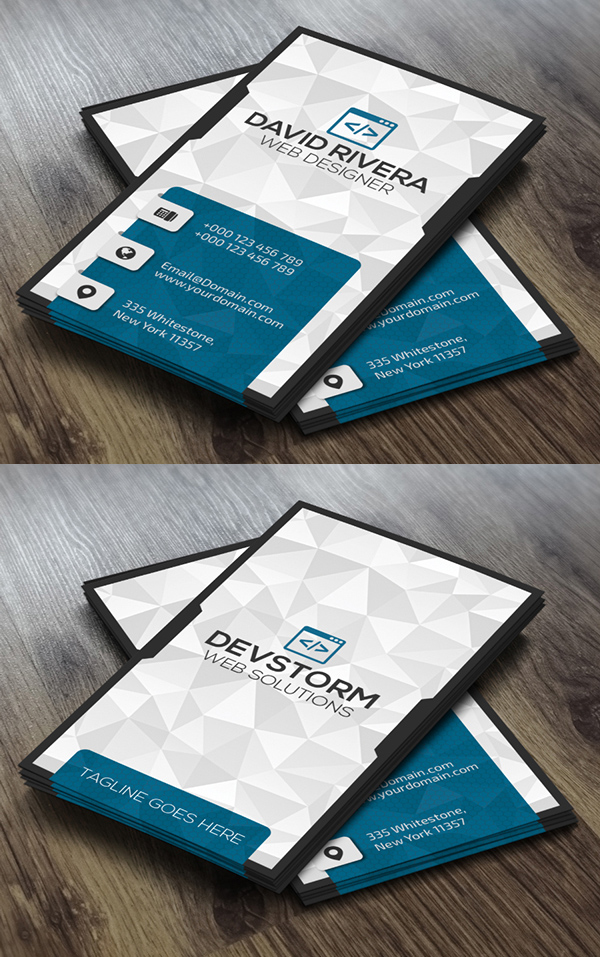Amazing Business Card Design Toronto Contemporary - Business Card ...