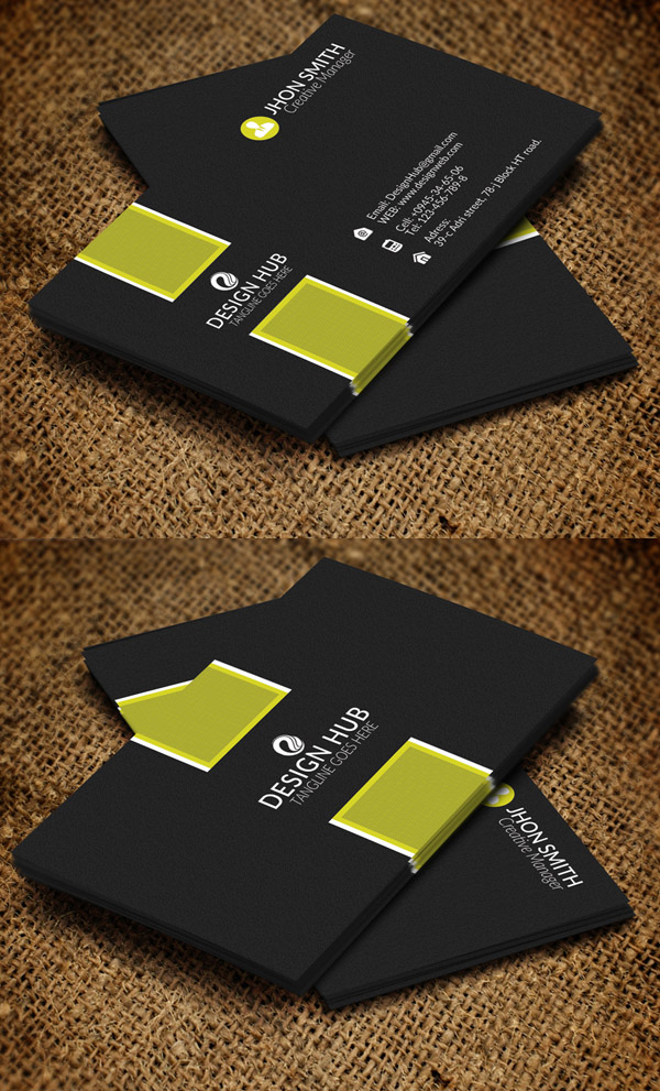 26 modern business cards psd templates print ready